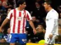 Pase de Cristiano Ronaldo con la espalda