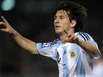 Gol de Messi a Brasil Argentina 1 Brasil 0