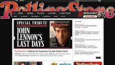 John Lennon Rolling Stone publica última entrevista a Lennon