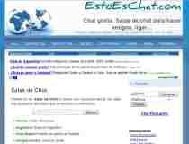 Chat en español EstoEsChat.com - canales de chat en español - salas de chat en español - chat sin registro