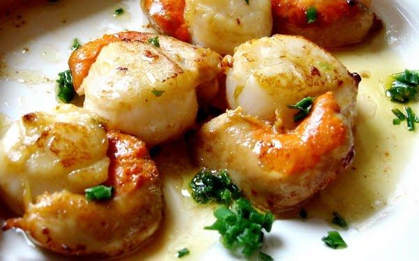 Cuisineetdelices recettes de cuisine petits plats entre amis recette coquilles saint jacques - Coquille saint jacques maison ...