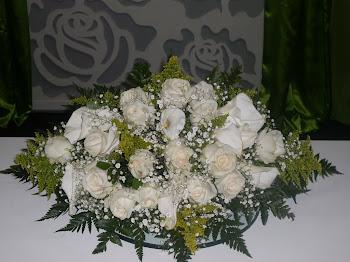 Arranjo Púlpito - Casamento
