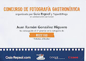 "1 Premio fotografa Gastronmica ""Recetas"""