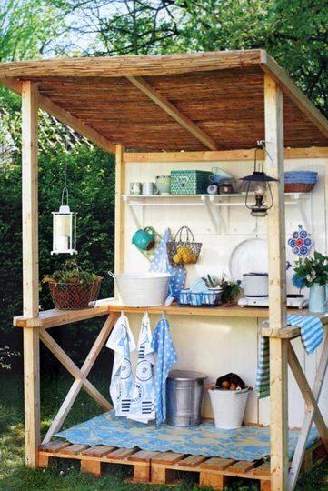 Simple Backyard Kitchen Ideas : Uma cozinha ao ar livre? Para aquele dia bonito, de festa e churrasco