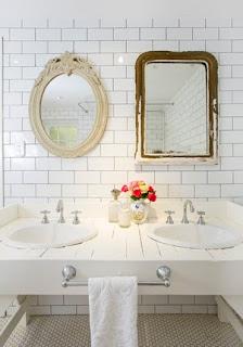 espelhos+banheiro Banheiros que eu gosto