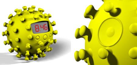 anemone-clock