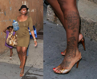 Don't place multiple tattoos on one limb, especially on a leg.
