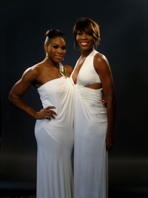 And tennis greats Venus and Serena Williams cleaned up nicely recently for a ...