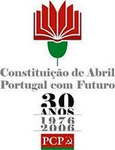 Constituição da República Portuguesa, para cumprir e fazer cumprir!