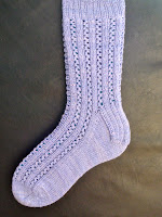 Eyelet Rib Socks