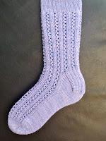 Eyelet Rib Socks