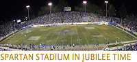 Spartan Stadium in Jubilee Time.