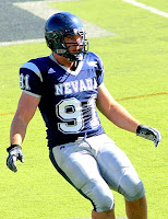 Nevada defensive lineman football player.