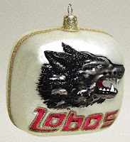 Lobos Christmas ornament.