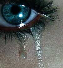 Mientras otra lágrima recorre mi mejilla...