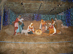 Life-sized Nativity at Hollywood Studios