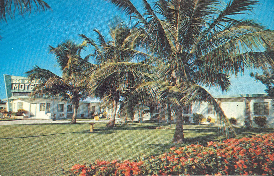 Vintage Travel Postcards Naples Florida