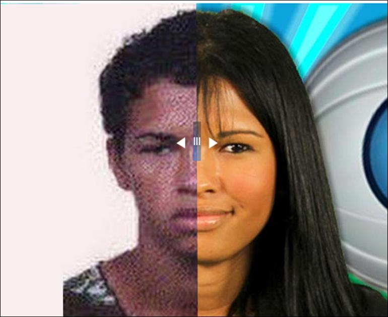 Antes e Depois - Ariadna