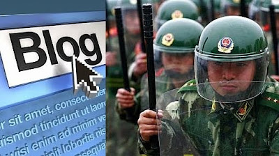 Foto 0 en  - China prohibió a sus soldados crear blogs y páginas web