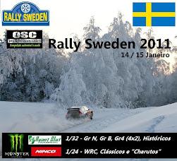 Rally da Suecia 2011