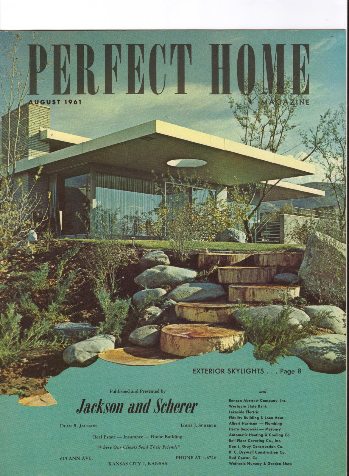 Kcmodern perfect home real estate brochures from the 1960 39 s for Perfecr home