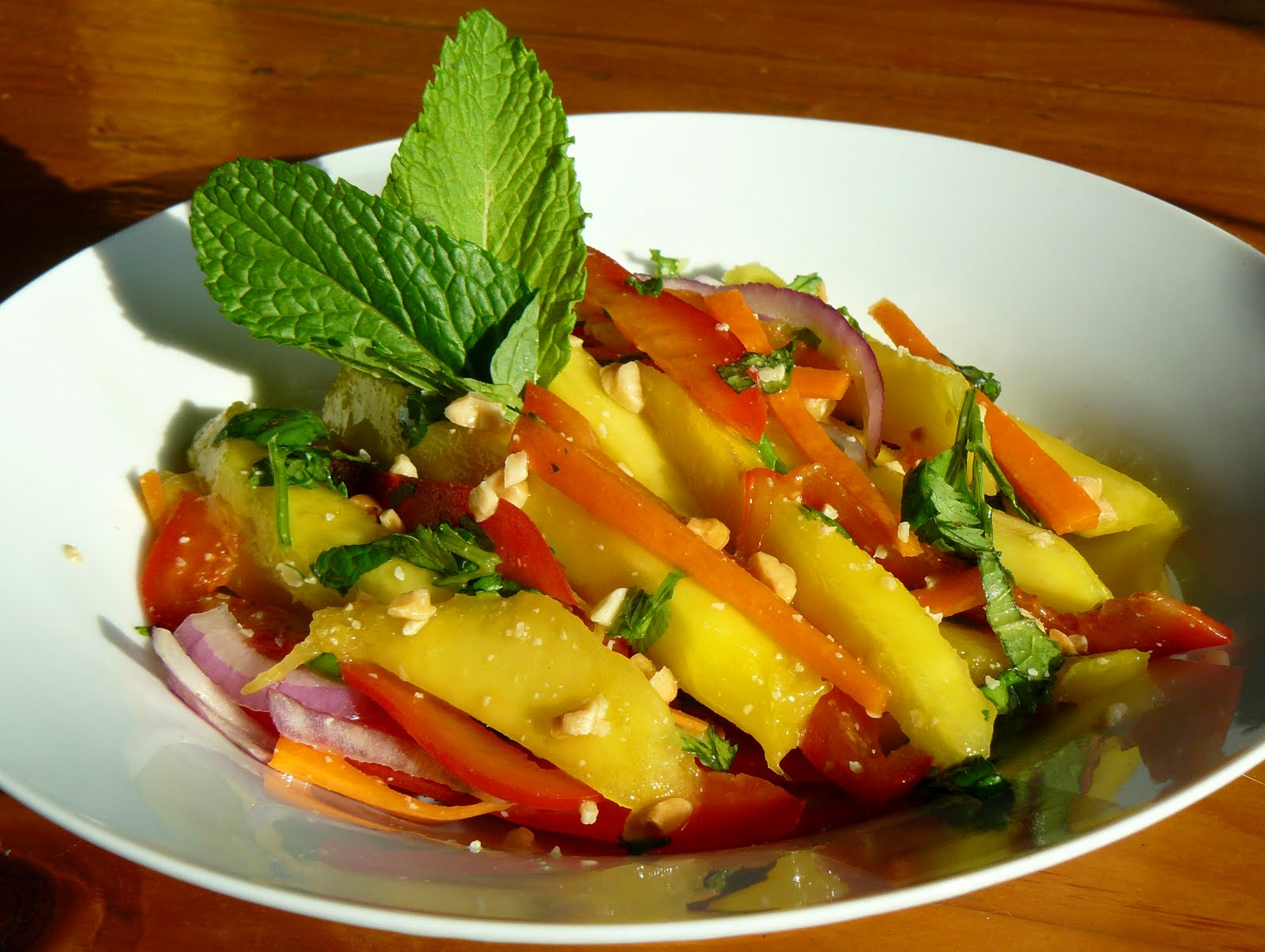 Mango Salad Recipe — Dishmaps