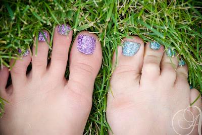 Glitter Toes Utah Sweet Living Glitter Toes