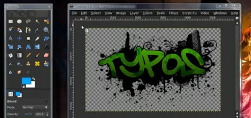 How+to+make+a+splatter+graffiti+effect+in+GIMP+%28HD%29 60+ GIMP Video Tutorials To Turn You Into a GIMP Ninja