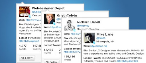 followfriday+twitter+hovercards+anywhere Mega List of Web Designers and Creatives To Follow On Twitter | #FollowFriday