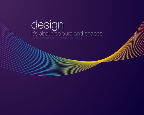 "Design+is+about+Colours+and+Shapes 70+ Super Creative Wallpapers ""About Design"""