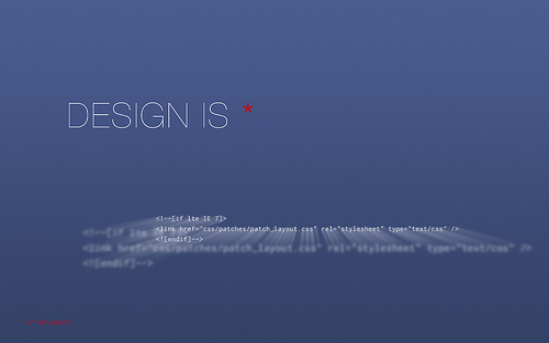 "Design+is 70+ Super Creative Wallpapers ""About Design"""