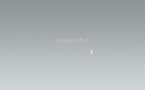 "Design+is+Cmd+%2B+N 70+ Super Creative Wallpapers ""About Design"""