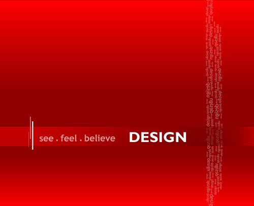 "See,+feel,+believe+Design 70+ Super Creative Wallpapers ""About Design"""