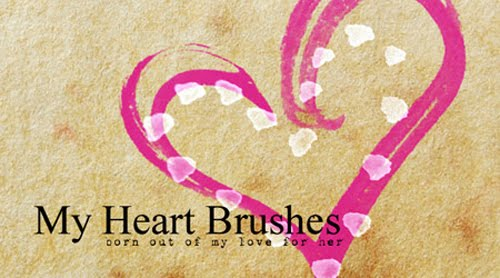 30+Free+Adobe+Photoshop+Valentine+Brush+Sets Valentines Day Inspired: Design Resources Roundup