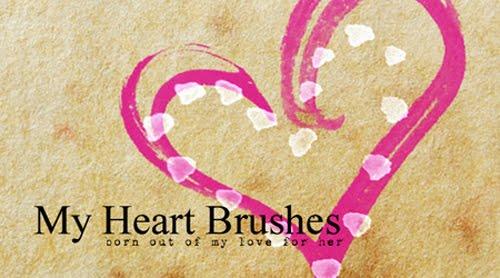 30+Free+Adobe+Photoshop+Valentine+Brush+Sets Valentines Day Inspired: Design Resources Roundup