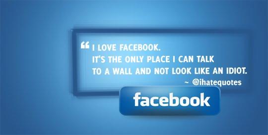 Wall Sayings For Facebook Funny : Facebook wall fail human talk to