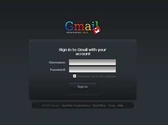 chethan gmail black Change the look of your Gmail and style it up this way