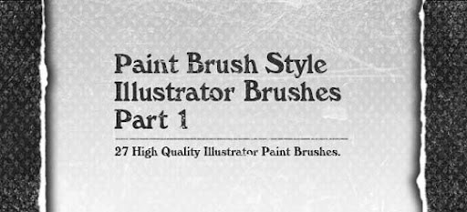 paint+brush+style+illustrator+brushes+part1 A Huge Compilation of 1000+ High Quality Adobe Illustrator Brushes