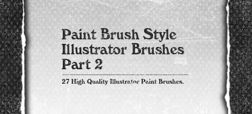 paint+brush+style+illustrator+brushes+part2 A Huge Compilation of 1000+ High Quality Adobe Illustrator Brushes
