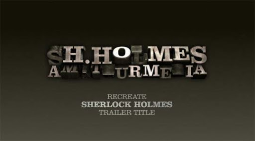 Recreate+Sherlock+Holmes+trailer+title+in+Cinema+4D Ultimate Round Up of Exceptional Cinema 4D Tutorials and Screencasts