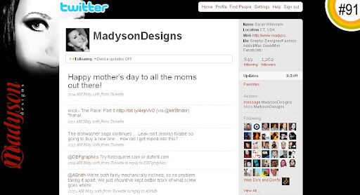 MadysonDesigns 100+ Incredible Twitter Backgrounds