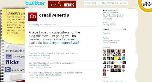 creativenerds 100+ Incredible Twitter Backgrounds