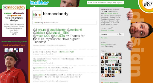 bkmacdaddy 100+ Incredible Twitter Backgrounds