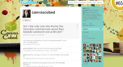 canvascubed 100+ Incredible Twitter Backgrounds
