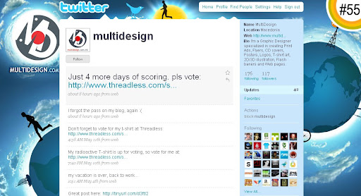 multidesign 100+ Incredible Twitter Backgrounds