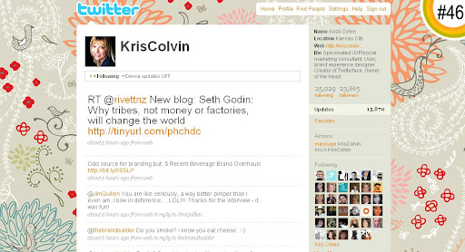 KrisColvin 100+ Incredible Twitter Backgrounds
