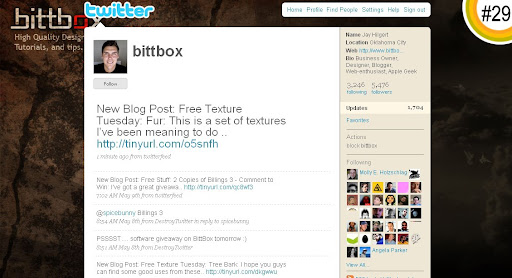 bittbox 100+ Incredible Twitter Backgrounds