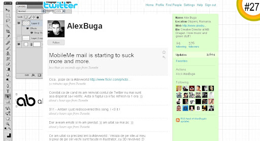 AlexBuga 100+ Incredible Twitter Backgrounds