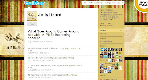 JollyLizard 100+ Incredible Twitter Backgrounds