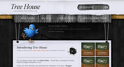 Tree+House Visually Impressive and Smashing Blogger Templates